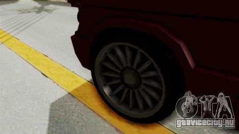 Huntley для GTA San Andreas вид сзади