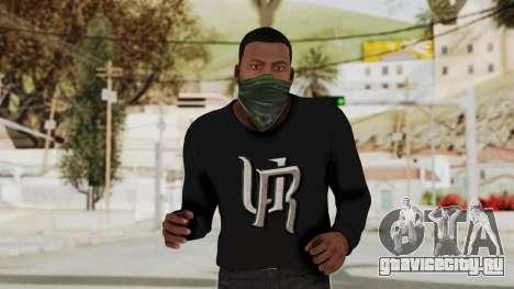GTA 5 Franklin v1 для GTA San Andreas