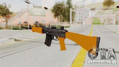 IOFB INSAS Plastic Orange Skin для GTA San Andreas второй скриншот