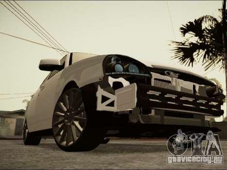Lada Priora BPAN для GTA San Andreas вид сзади слева