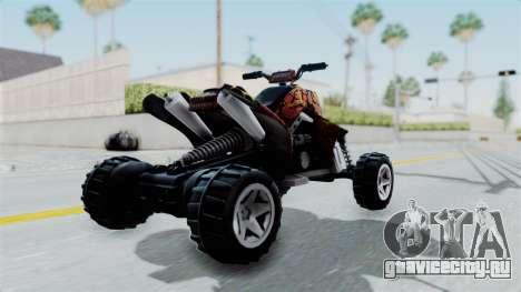 Sand Stinger from Hot Wheels v2 для GTA San Andreas вид слева