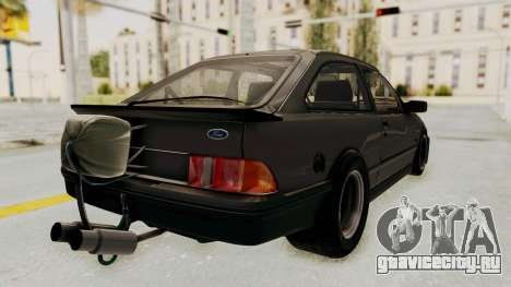 Ford Sierra Mk1 Drag Version для GTA San Andreas вид слева