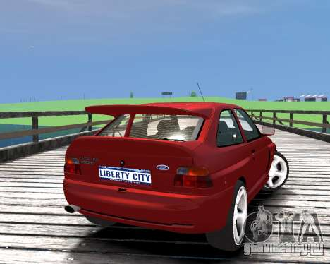 Ford Escort RS Cosworth для GTA 4 вид слева