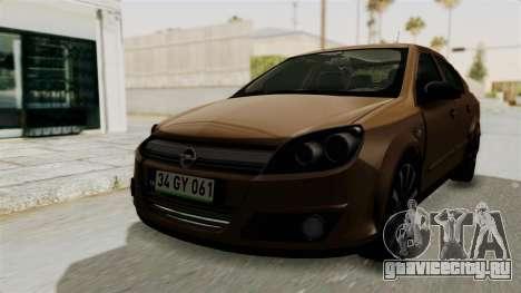 Opel Astra Sedan 2011 для GTA San Andreas