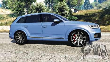 Audi Q7 2015 [rims1] для GTA 5 вид слева