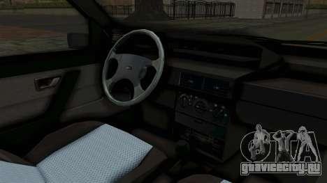 Fiat Tempra для GTA San Andreas вид изнутри