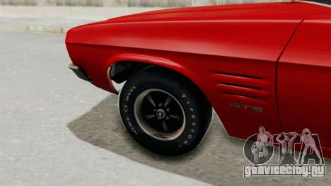 Holden Monaro GTS 1971 SA Plate IVF для GTA San Andreas вид сзади