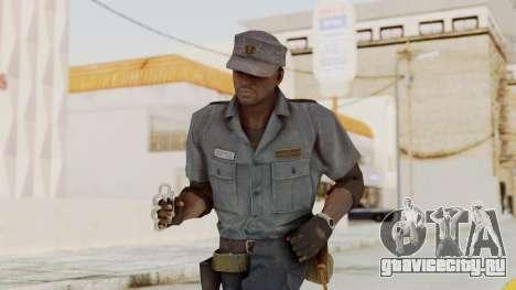 MGSV Phantom Pain Zero Risk Security Combat v1 для GTA San Andreas