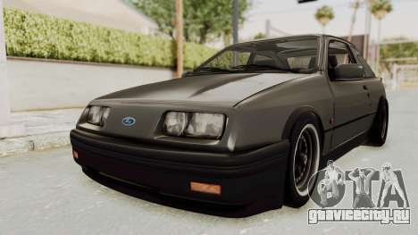 Ford Sierra Mk1 Drag Version для GTA San Andreas вид справа