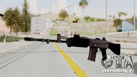 IOFB INSAS Plastic Black Skin для GTA San Andreas