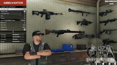 MG-42 для GTA 5 второй скриншот