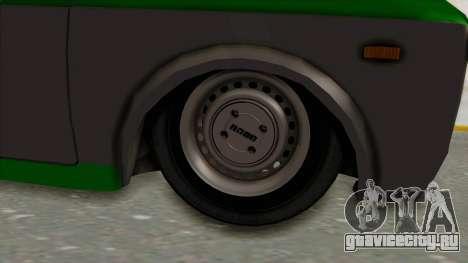 Fiat 128 De Picadas для GTA San Andreas вид сзади