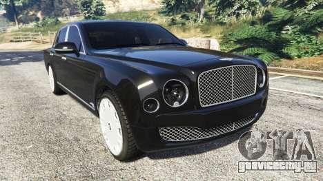 Bentley Mulsanne 2010 для GTA 5