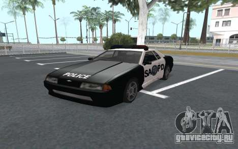 Elegy SAPD для GTA San Andreas