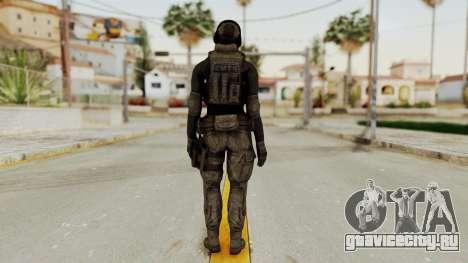 Phantomers Linda Sashantti Soldier для GTA San Andreas третий скриншот
