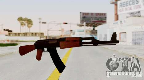 Liberty City Stories AK-47 для GTA San Andreas второй скриншот