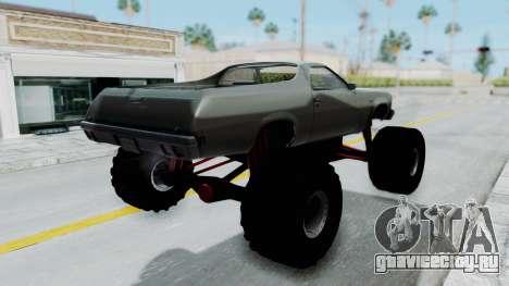 Chevrolet El Camino 1973 Monster Truck для GTA San Andreas вид слева