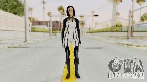 Mass Effect 3 Dr. Eva New Short Hair для GTA San Andreas второй скриншот