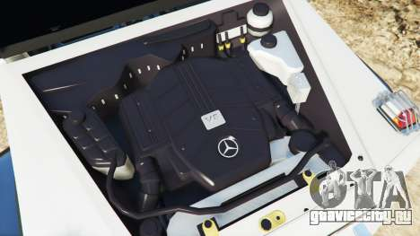 Mercedes-Benz G65 AMG 6x6 для GTA 5 вид спереди справа