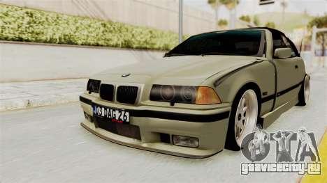 BMW 320CI E36 для GTA San Andreas вид сзади слева