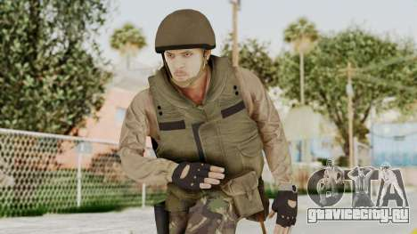 MGSV Phantom Pain RC Soldier Vest v1 для GTA San Andreas