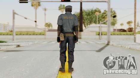 MGSV Phantom Pain Zero Risk Security Combat v1 для GTA San Andreas третий скриншот