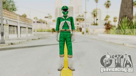Power Rangers Lightspeed Rescue - Green для GTA San Andreas второй скриншот