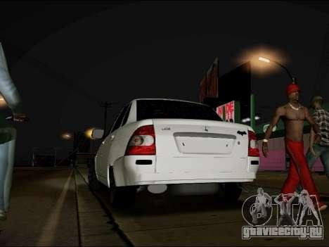 Lada Priora BPAN для GTA San Andreas вид слева