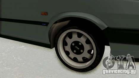 Fiat Tempra для GTA San Andreas вид сзади