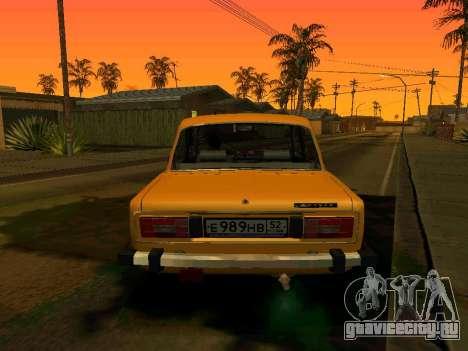 ВАЗ 2106 Сток для GTA San Andreas вид слева