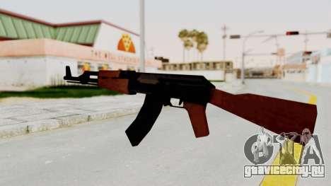 Liberty City Stories AK-47 для GTA San Andreas третий скриншот
