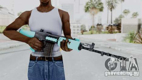 IOFB INSAS Light Blue для GTA San Andreas третий скриншот