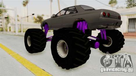 Nissan Skyline R32 4 Door Monster Truck для GTA San Andreas вид слева