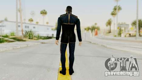 Mass Effect 3 Shepard Formal Alliance Uniform для GTA San Andreas третий скриншот