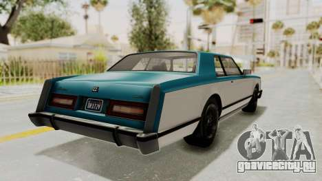 GTA 5 Dundreary Virgo Classic IVF для GTA San Andreas вид слева