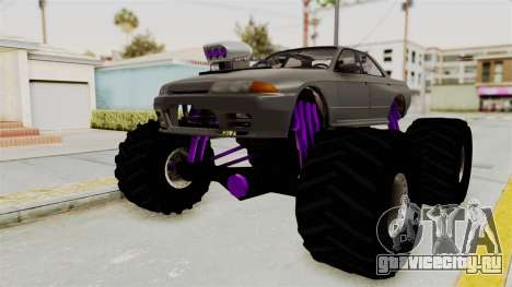 Nissan Skyline R32 4 Door Monster Truck для GTA San Andreas