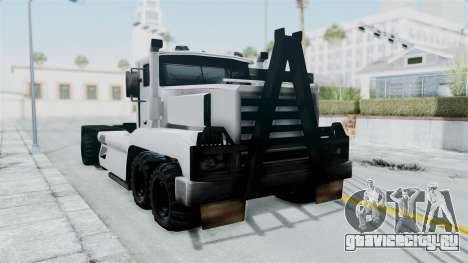 Roadtrain 8x8 v1 для GTA San Andreas вид справа
