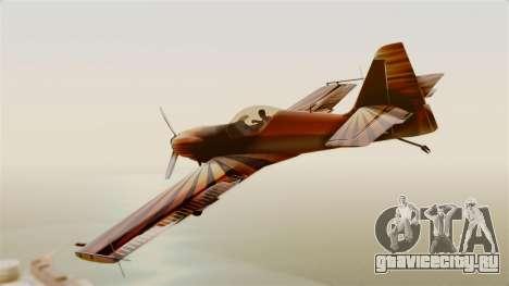 Zlin Z-50 LS для GTA San Andreas вид слева