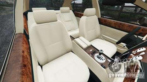 Bentley Continental Flying Spur 2010 для GTA 5 вид справа