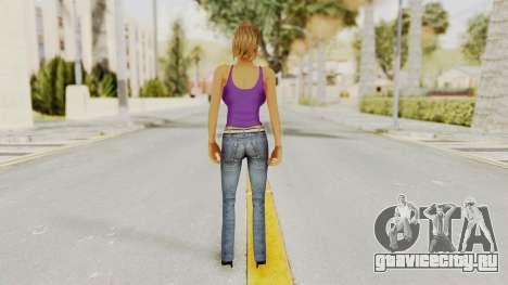 Busty Girl для GTA San Andreas третий скриншот