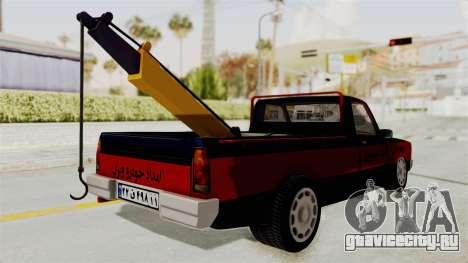 Mazda Tow Truck Pickup для GTA San Andreas вид слева