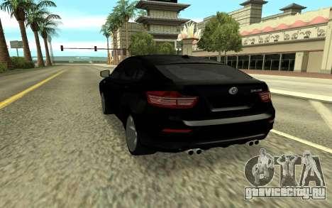 BMW X6M для GTA San Andreas вид слева
