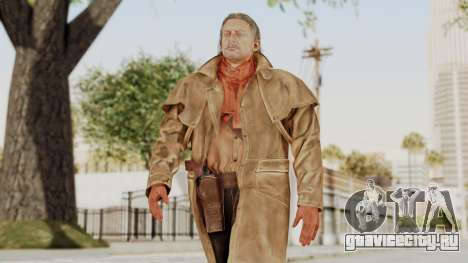 MGSV Phantom Pain Ocelot Prologue Afghanistan для GTA San Andreas