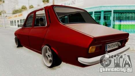 Dacia 1310 WNE для GTA San Andreas вид сзади слева