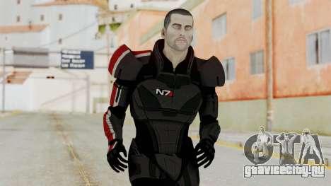 Mass Effect 2 Shepard Default N7 Armor No Helmet для GTA San Andreas