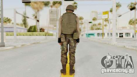 MGSV Phantom Pain RC Soldier Vest v1 для GTA San Andreas третий скриншот