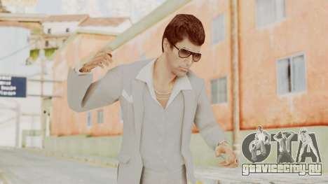 Scarface Tony Montana Suit v1 with Glasses для GTA San Andreas