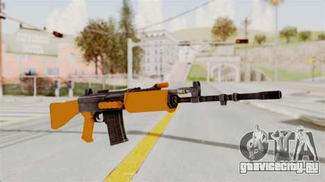 IOFB INSAS Plastic Orange Skin для GTA San Andreas
