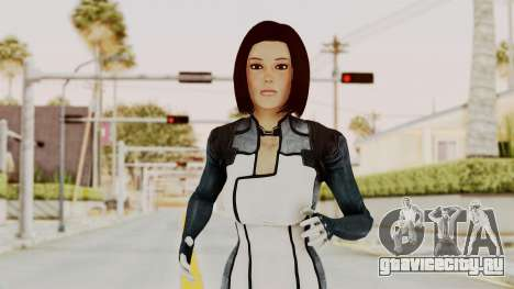 Mass Effect 3 Dr. Eva New Short Hair для GTA San Andreas
