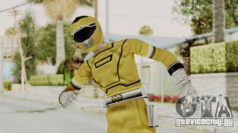 Power Rangers Turbo - Yellow для GTA San Andreas